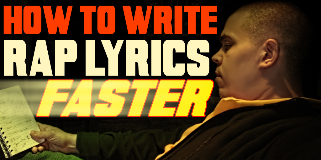 how to write a rap