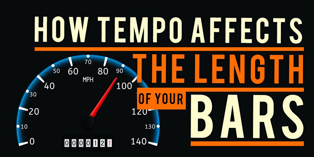 how tempo affects your bars
