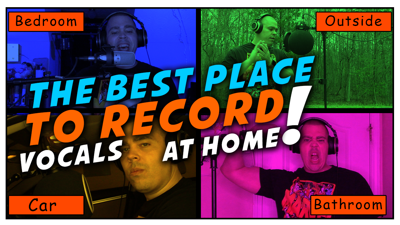 Best place to record vocals at home tips for recording rap vocals